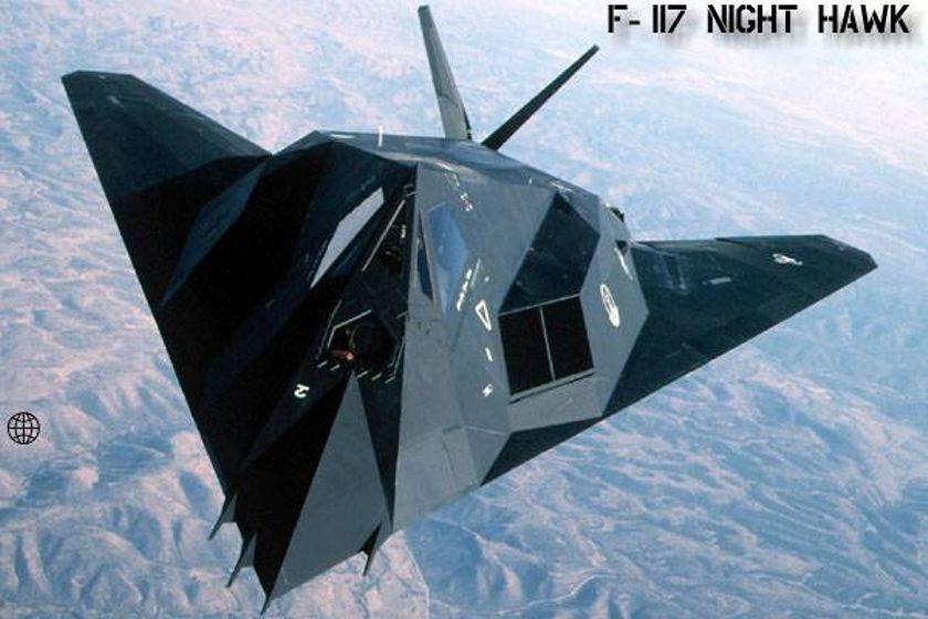 F 117 Nighthawk At Night Military Power Review ...