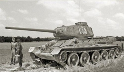 Tanque russo T-34